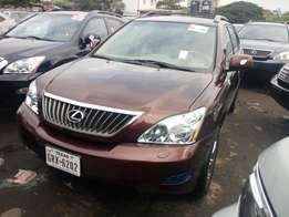 2009 Lexus RX350. Brown full option