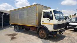 1984 Mercedes - Benz 1213 6ton Closed body