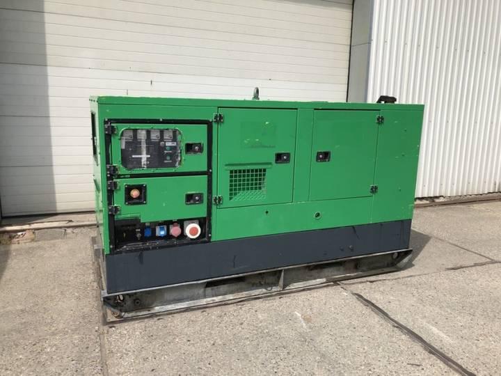 Perkins Stamford Gesan 60KvA Generatorset SuperSilent