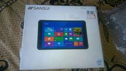 Sansui 8 inch Windows intel 3G Tablet with cover + Warranty