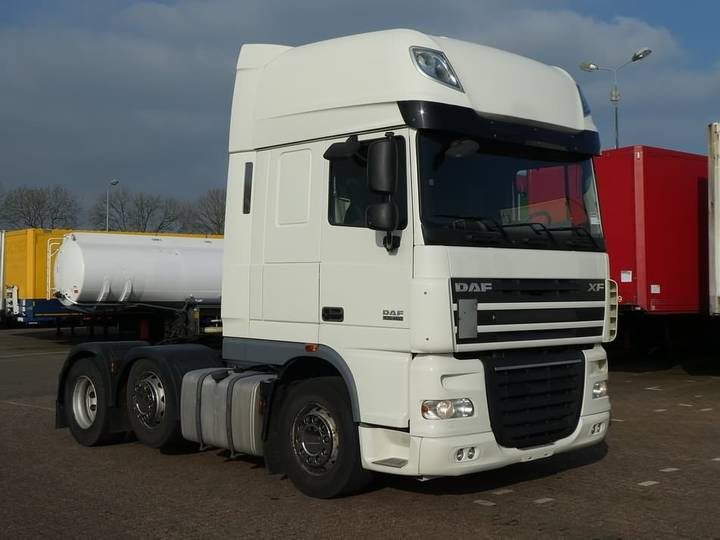 DAF XF 105.460 ssc 6x2 ftg manual - 2010