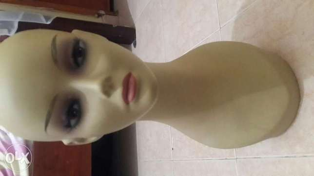 Dummy for wigs, necklace, chokers and make up accessories. Zimmerman - image 2