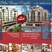Super luxurious residential and commercial centre