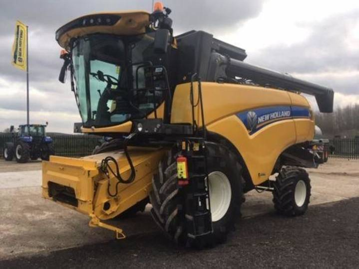 New Holland cx5.80 - 2017