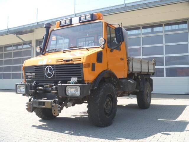 Unimog 1250 - U1250 424 15958 Mercedes Benz 424