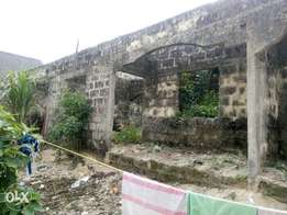 Uncompleted building for sale at usiefurun,Udu LGA Delta state