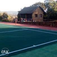 Tarring and Tennis courts