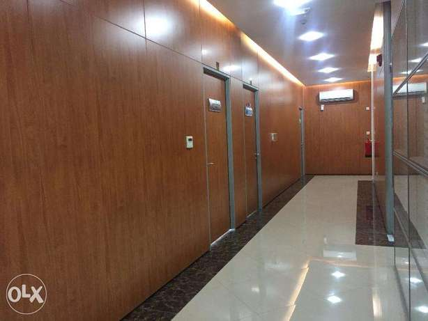 40 SQM 5 person office C ring 6,500 QR One month free المنتزه -  2