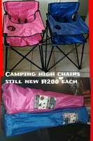 Campingbaby high chairs new