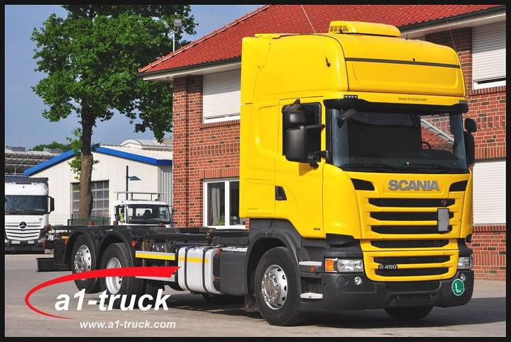 Scania R 450 LB6x2 MNB,Topline, Euro 6, Standklima, Retarder - 2013