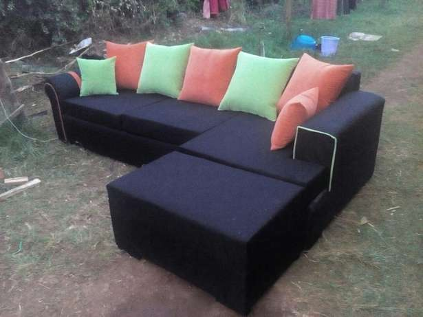 Black couch Eldoret East - image 5