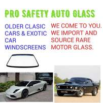 Clasic and Exotic motor glass