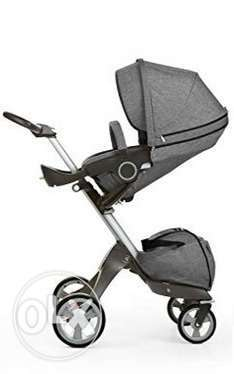 Stokke Xplory Stroller + BeSafe iZi Car Seat in excellent condition الرياض -  4