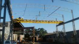 Gantry and 10ton overhead crane for sale
