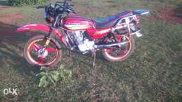 Captain motocycle,with Turbo engine