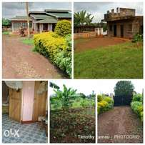 3/4 acre piece of land for sale with 3 bedroom self-contained on