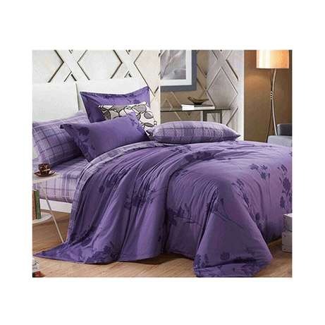 Niish Duvet Cover Set - 6 Pieces - 6 x 6 - Purple Nairobi CBD - image 1