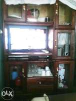 quality hardwood wall unit
