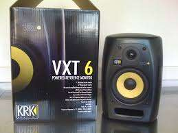 KRK VXT 6 Studio Monitors. Shop Demo models, new with full warrantee