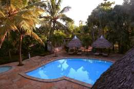 Excutive beach hotel for sale in Diani Beach 2 on Tarmac Road.
