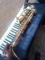 Neatly used saxophone for sale