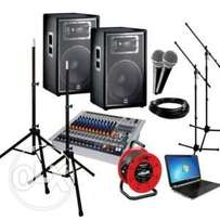 Hire of Quality Public Address System. Offer!!
