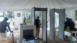 metal detectors and x-ray scanners for hire and sale