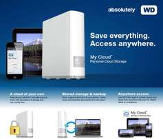 WD MY Cloud 4TB To Gigabit Ethernet