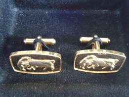 Gold plated cufflings