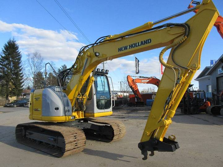 New Holland E135bsr - 2008 - image 2