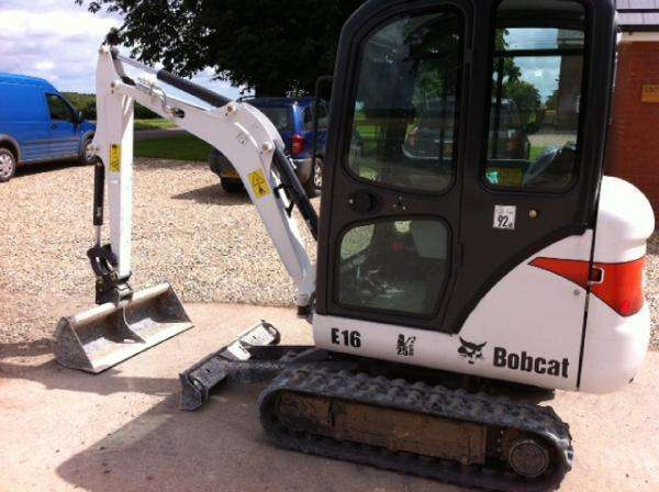 Bobcat E16 - image 3
