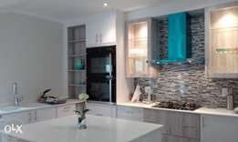 We supply and install high quality kitchen and bedroom cupbords
