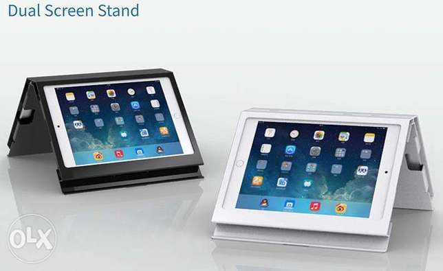 Dual iPad Stand (SC-106) for Restaurant Countertops