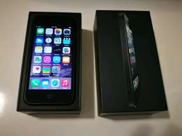 iPhone 5 black excellent condition