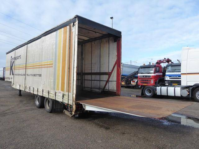 LAG Stepdeck,machine,D`Hollandia DHE 900 laadklep,heft - 1990