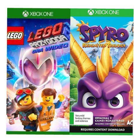 Zestaw 10 Gier Gry Xbox One Lego Przygoda 2spyro Reignited
