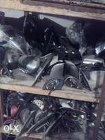 Side mirrors and all lights available.
