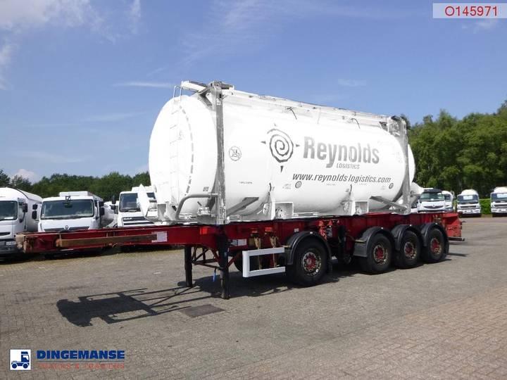 Dennison Container combi trailer 20-30-40-45 ft - 2004