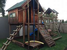 Wooden Jungle Gym for sale