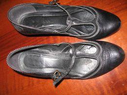 539a062bd42bd9 туфли кожанные на удобном каблуке дешево