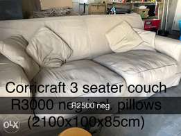 Corricraft 3 seater couch