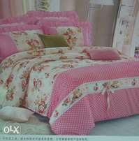 Any king size with a bed sheet and two pillow cases free delivery