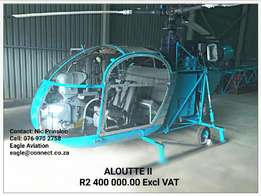 The most beautiful Alouette II in SA for Sale !