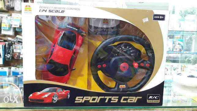 Sport car with remote control