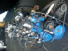 Ford bullet engine and gearbox ready to go