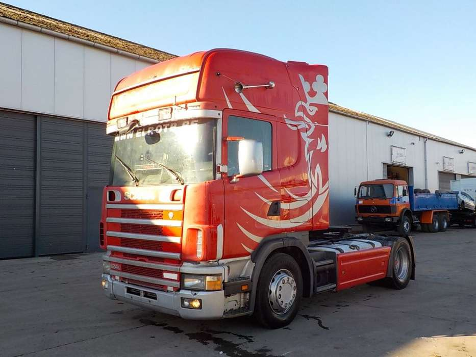Scania 124-420 Topline (MANUAL GEARBOX) - 2003