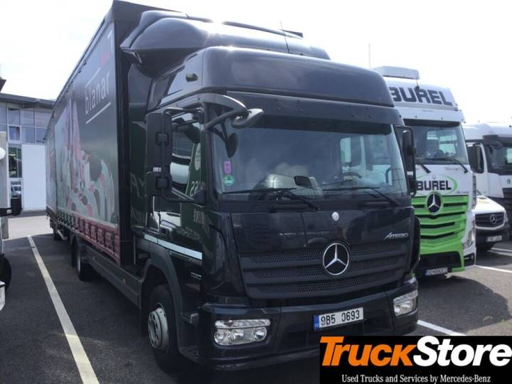 Mercedes-Benz Atego Neu Verteiler 1230 L 4x2 - 2014