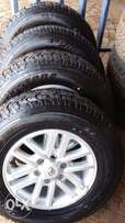 Toyota hilux fortuner mags and tyres