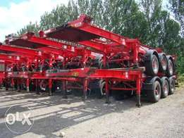 Ex UK Trailers Skeletals for sale