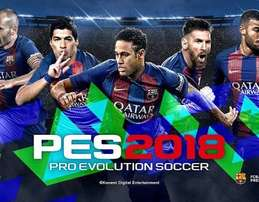 Pes 2018 For ps3 and ps4